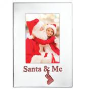 """Lenox """"Countdown to Christmas"""" Santa and Me Frame"""