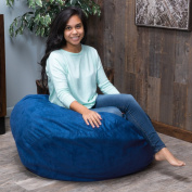 Christopher Knight Home Sammy Faux Suede 0.9m Lounge Beanbag Chair