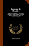 Sermons, or Homilies
