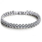 Jade Angel . Elements Cubic Zirconia Bracelet for Women Wedding Jewellery
