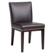 Sunpan '5West' Vintage Bonded Leather Dining Chairs