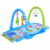 Arshiner Grow-with-me Activity Gym and Ball Pit Kick & Crawl Gym
