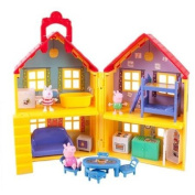 Peppa Pig, Peppa's Deluxe House Play Set with 3 Figures