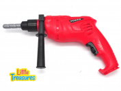 Little Treasures Electronic pretend play Power Tool Cordless Drill Set with working function realistic looking drill toy