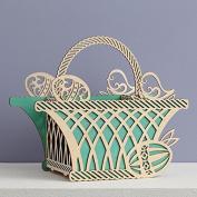 Enesco Flourish Centrepiece Basket