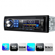 Masione® Bluetooth Car Stereo Audio Receiver , Single Din, In Dash 12V, MP3 Radio Player Compatible, Digital Media, FM Receiver with USB Port & SD Card Slot AUX Receiver,Remote Control