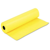 """Spectra ArtKraft Duo-Finish Paper, 22kg., 90cm """" x 300m, Canary Yellow, Sold as 1 Roll"""