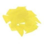 Bullseye Glass Confetti - Canary Yellow - Fusible 90 COE