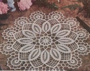 Vintage Crochet Pattern to make - Easter Doily Centrepiece Mat. NOT a finished item. This is a pattern and/or instructions to make the item only.