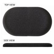 10cm X 20cm Flat Oval Stick on Gel Pad