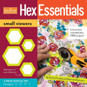C & T Publishing fast2cut HexEssentials Small Viewers Template Set