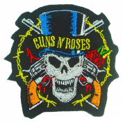 Guns N' Roses Logo Badge Iron on Embroidered Patches