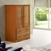Palace Imports Petite Solid Wood Armoire