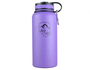 Stainless Steel Water Bottle - Wide Mouth Bottle - Insulated Water Bottle - Double Walled - Vacuum Insulated - Water Bottle 950ml Insulated Thermos