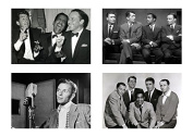 4 - The Rat Pack / Frank Sinatra & Dean Martin 5 x 7 GLOSSY * 4 Photo Picture LOT 4 - 5x7