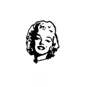 Marilyn Monroe American Actress Iron on Patch Embroidered