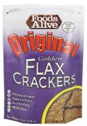 Foods Alive - Organic Golden Flax Crackers Original - 120ml