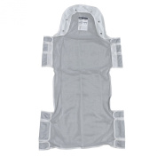 Drive Medical 13228d Patient Lift Sling with Head Support, Grey