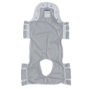 Drive Medical 13233d Patient Lift Sling with Head Support, Grey