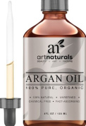 Art Naturals Organic Argan Oil for Hair, Face & Skin 120ml
