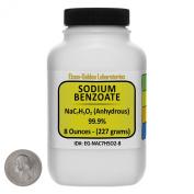 Sodium Benzoate [NaC7H5O2] 99.9% USP Grade Powder 240ml in a Space-Saver Bottle USA