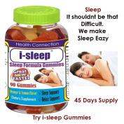 Difficulty Sleeping. Fall Sleep in Minutes, Try i-sleep Gummies,