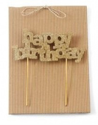 Happy Birthday Candle Cake Topper By Mud Pie