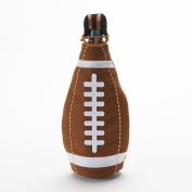 Food NetworkTM Football with Helmet Wine Bottle Cover Super Bowl or Playoffs