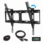 Mounting Dream® MD2165-LK Tilt TV Wall Mount Bracket for most of 42-70 Inches TVs with VESA 200X100 to 600X400mm, Loading Capacity 60kg, 0-20 Degree Forward Tilt, Including 1.8m HDMI Cable and Magnetic Bubble Level (for for  for  for  for  for  for Samsun
