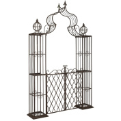 Safavieh Outdoor Living Beatrix Rustic Brown Arbour