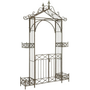 Safavieh Outdoor Living Destiny Rustic Blue Gated Arbour