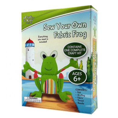 CFK - Sew a Fabric Frog
