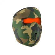 Zan Headgear Reversible Full Mask, Orange
