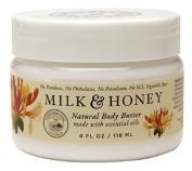 Olivina Body Butter, Milk and Honey, 4 Fluid Ounce