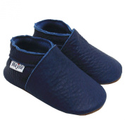 Mejale Soft Soles Leather First Walking Baby Shoes