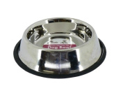Cheeko - Steel Non-Slip/Tip Bowl 1750ml 23cm