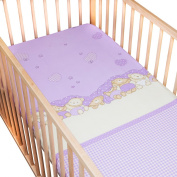 Baby Three Bears / Pack of 2 Fitted Sheet - SoulBedroom 100% Cotton Cot Bedding