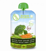 Goodness Gracious Organic Carrot/Broccoli and Quinoa Puree 140 g