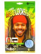 King.J Unisex Spandex Dreadlocks Band