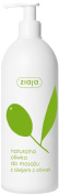 ZIAJA - NATURAL OLIVE - MASSAGE OIL WITH OLIVE OIL - LEAVES NO STAINS - 500ml