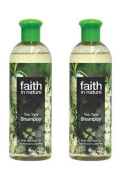 (2 PACK) - Faith Tea Tree Shampoo | 400ml | 2 PACK - SUPER SAVER - SAVE MONEY