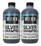 (2 PACK) Bleach Silver Shampoo x 250ml