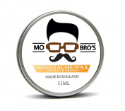 Mo Bro's Moustache Wax 25ml Tin Made in England - Classic Cedarwood