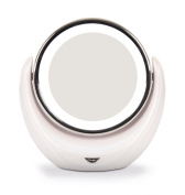 Kosee Beauty Cosmetic Mirror LED Illuminated Double Sided Compact Swivel Round Make Up Mirror