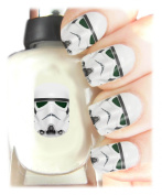 Easy to use, High Quality Nail Art Decal Stickers For Every Occasion! Ideal Christmas Present, Stocking Filler Star Wars Stormtrooper Wrap