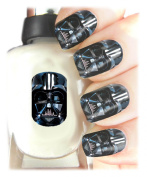Easy to use, High Quality Nail Art Decal Stickers For Every Occasion! Ideal Christmas Present, Stocking Filler Star Wars Darth Vader Wrap