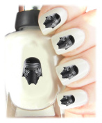 Easy to use, High Quality Nail Art Decal Stickers For Every Occasion! Ideal Christmas Present, Stocking Filler Star Wars Kylo Ren