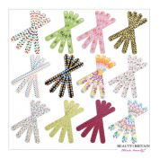 50 x NAIL FILES DIFFERENT DESIGNS DOUBLE SIDED WHOLESALE