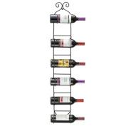 Sorbus 6-bottle Wall Mount Wine Rack
