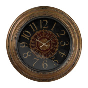 Large Salthill Clock With Distressed Hand painted Frame
